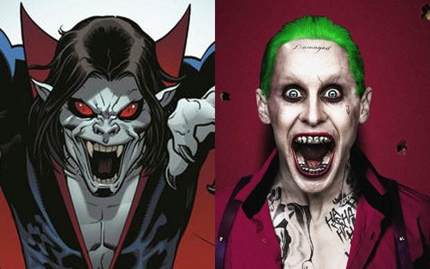 Joker Jared Leto hóa thân thành ma cà rồng đánh nhau với Spider-Man trong phim mới của Sony - Ảnh 3.