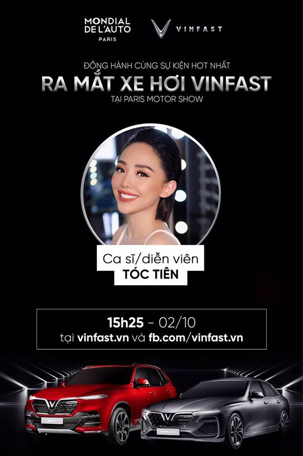 Dàn sao đình đám Vbiz cùng hào hứng hướng về sự kiện ra mắt xe hơi VinFast tại Paris Motor Show 2018 - Ảnh 6.
