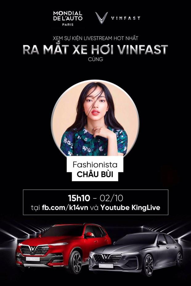 Dàn sao đình đám Vbiz cùng hào hứng hướng về sự kiện ra mắt xe hơi VinFast tại Paris Motor Show 2018 - Ảnh 9.