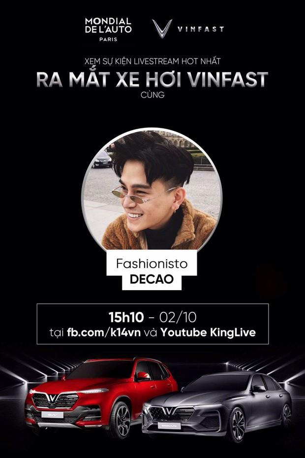 Dàn sao đình đám Vbiz cùng hào hứng hướng về sự kiện ra mắt xe hơi VinFast tại Paris Motor Show 2018 - Ảnh 10.