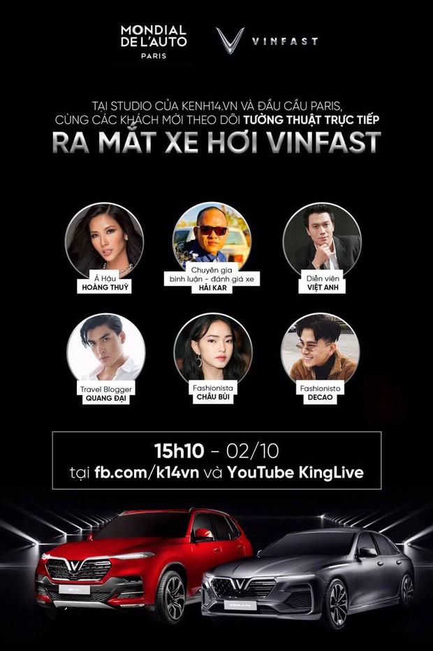 Dàn sao đình đám Vbiz cùng hào hứng hướng về sự kiện ra mắt xe hơi VinFast tại Paris Motor Show 2018 - Ảnh 12.