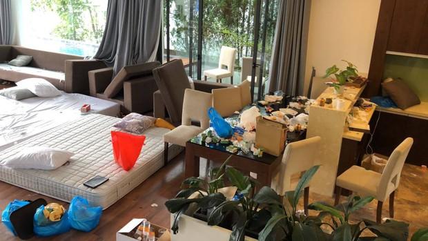 Chùm ảnh: Những căn phòng khách sạn biến thành bãi rác khiến nhân viên cũng nổi da gà - Ảnh 5.