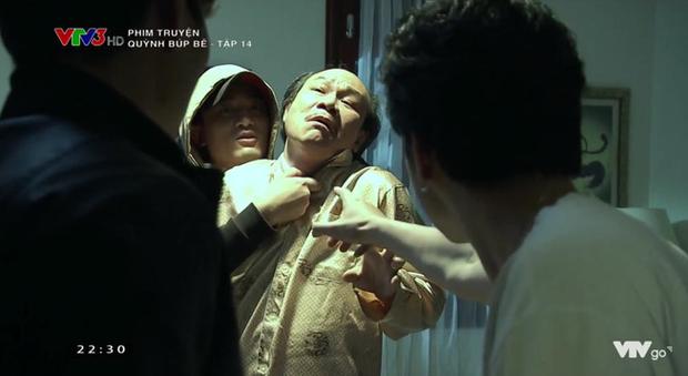 Cảnh lật mặt, dùng dao uy hiếp rồi cướp Quỳnh Búp Bê khỏi tay Phong Cấn - Ảnh 12.