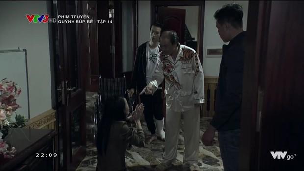 Cảnh lật mặt, dùng dao uy hiếp rồi cướp Quỳnh Búp Bê khỏi tay Phong Cấn - Ảnh 9.