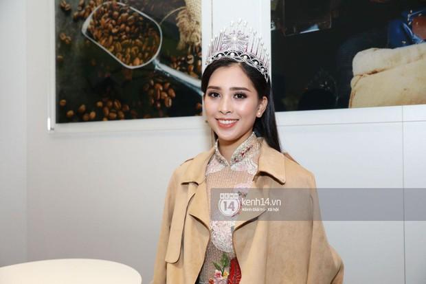 ĐỘC QUYỀN: Hé lộ hình ảnh đầu tiên của Hoa hậu Tiểu Vy, Hoàng Thùy và Quang Đại tại sự kiện ra mắt xe hơi VinFast - Ảnh 2.