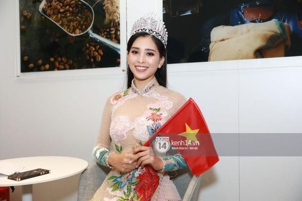 ĐỘC QUYỀN: Hé lộ hình ảnh đầu tiên của Hoa hậu Tiểu Vy, Hoàng Thùy và Quang Đại tại sự kiện ra mắt xe hơi VinFast - Ảnh 5.