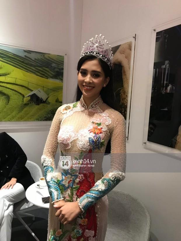 ĐỘC QUYỀN: Hé lộ hình ảnh đầu tiên của Hoa hậu Tiểu Vy, Hoàng Thùy và Quang Đại tại sự kiện ra mắt xe hơi VinFast - Ảnh 6.