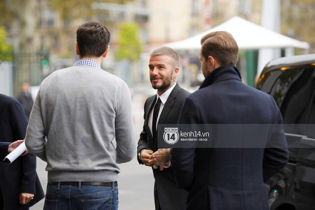 HOT: David Beckham vừa có mặt tại sự kiện ra mắt ô tô VINFAST ở Paris! - Ảnh 5.