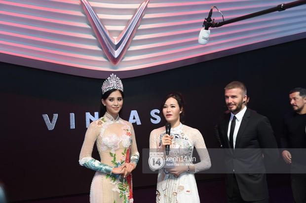 Hoa hậu Tiểu Vy diện váy dạ hội nổi bật, cực xinh đẹp trong sự kiện ra mắt ô tô VINFAST tại Paris - Ảnh 8.