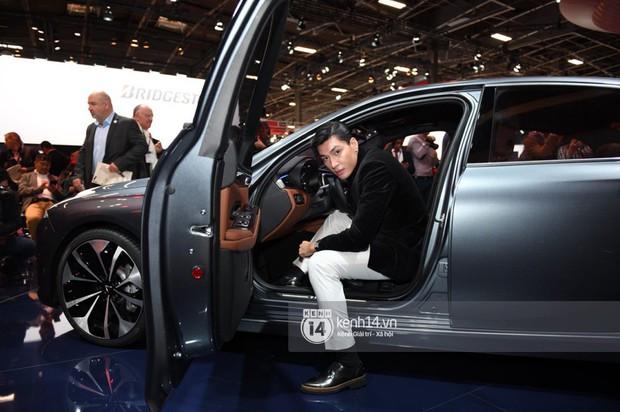 Hoàng Thùy diện váy lộng lẫy, Quang Đại điển trai tại sự kiện ra mắt xe của VINFAST tại Paris Motor Show - Ảnh 12.