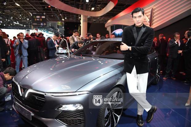 Hoàng Thùy diện váy lộng lẫy, Quang Đại điển trai tại sự kiện ra mắt xe của VINFAST tại Paris Motor Show - Ảnh 10.