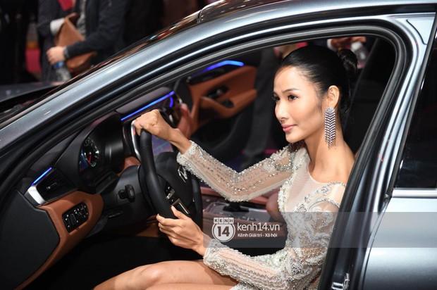 Hoàng Thùy diện váy lộng lẫy, Quang Đại điển trai tại sự kiện ra mắt xe của VINFAST tại Paris Motor Show - Ảnh 5.
