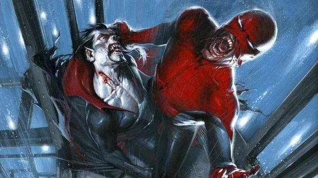 Joker Jared Leto hóa thân thành ma cà rồng đánh nhau với Spider-Man trong phim mới của Sony - Ảnh 1.