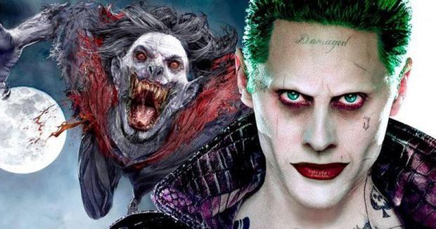 Joker Jared Leto hóa thân thành ma cà rồng đánh nhau với Spider-Man trong phim mới của Sony - Ảnh 2.