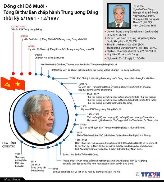 Tiểu sử nguyên Tổng Bí thư Đỗ Mười: Những hoạt động nổi bật- Ảnh 15.
