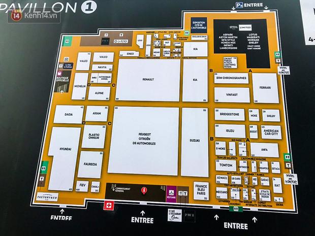 Lộ diện hình ảnh gian hàng và sân khấu khủng của VinFast tại Paris Motor Show 2018 - Ảnh 8.