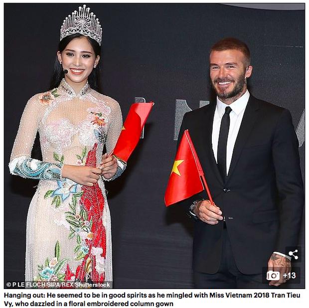 Hàng loạt báo quốc tế đăng tin rầm rộ về màn xuất hiện của David Beckham tại sự kiện ra mắt VINFAST - Ảnh 1.