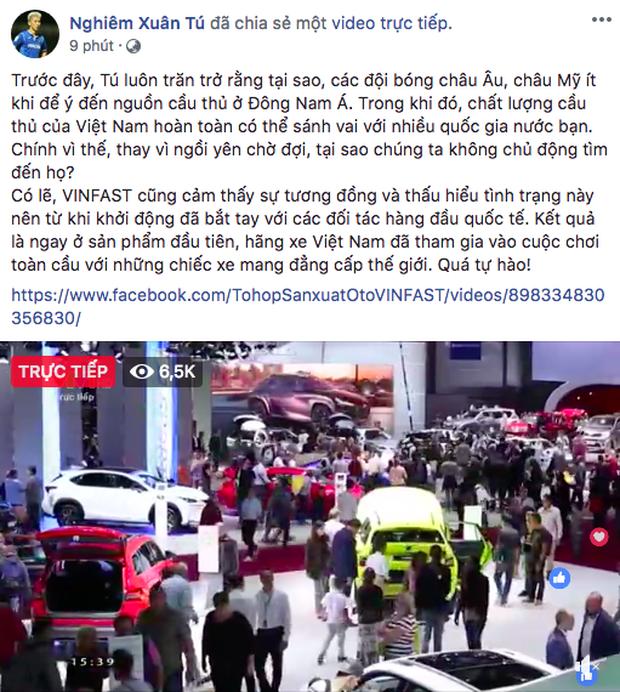 VINFAST ra mắt, Chi Pu, Soobin Hoàng Sơn đồng loạt chia sẻ livestream  - Ảnh 8.