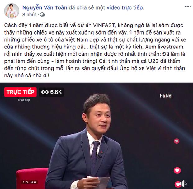 VINFAST ra mắt, Chi Pu, Soobin Hoàng Sơn đồng loạt chia sẻ livestream - Ảnh 9.