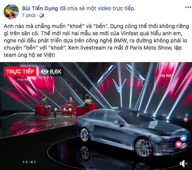 VINFAST ra mắt, Chi Pu, Soobin Hoàng Sơn đồng loạt chia sẻ livestream  - Ảnh 10.