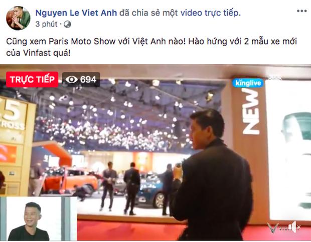 VINFAST ra mắt, Chi Pu, Soobin Hoàng Sơn đồng loạt chia sẻ livestream - Ảnh 1.