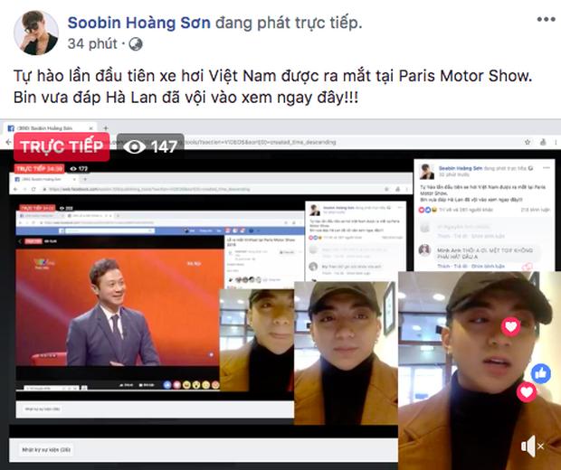 VINFAST ra mắt, Chi Pu, Soobin Hoàng Sơn đồng loạt chia sẻ livestream  - Ảnh 6.