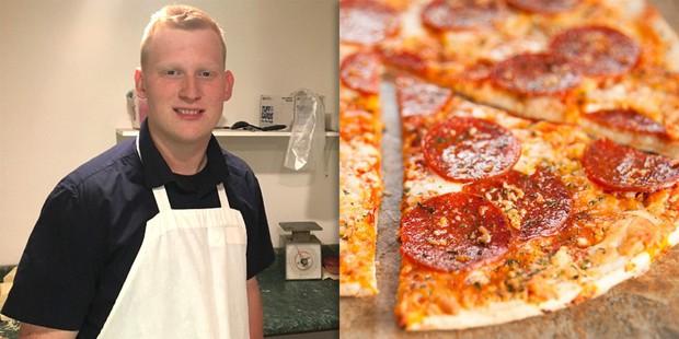 Miếng pizza ngon nhất thế giới: chàng shipper vượt 300km, xuyên màn đêm để giao tận tay cho khách hàng đặc biệt - Ảnh 2.