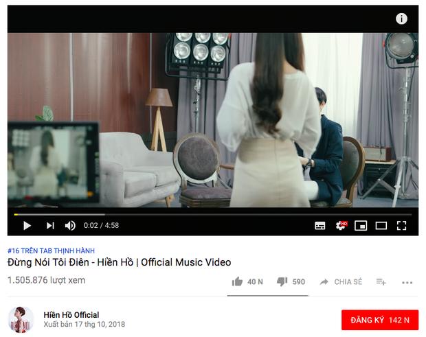 Nửa ngày ra mắt, MV mới của Noo Phước Thịnh nhập cuộc Top Trending Youtube, Thằng điên vẫn giữ vững phong độ - Ảnh 7.