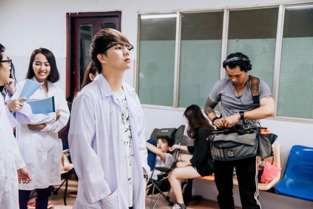 Quán quân Gương mặt thân quen 2018 hé lộ web-drama Halloween phát sóng tại Việt Nam và Trung Quốc - Ảnh 7.