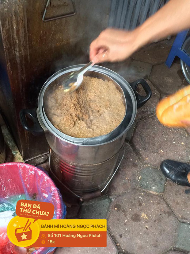 Truy tìm những hàng bánh mì có nồi pate nóng hổi để làm ấm cái bụng trong những ngày lạnh ở Hà Nội - Ảnh 8.