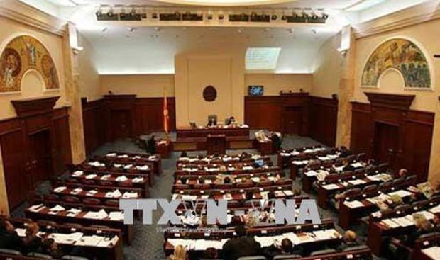 Quốc hội Macedonia thông qua thỏa thuận đổi tên nước - Ảnh 1.