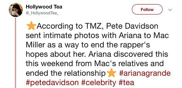 Chồng chưa cưới của Ariana Grande từng gửi ảnh giường chiếu trêu tức bạn trai cũ quá cố của cô? - Ảnh 1.