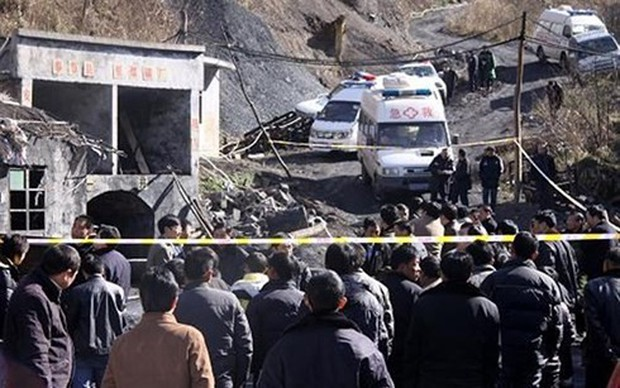 2 người chết, 18 người vẫn mất tích trong vụ nổ mỏ than ở Trung Quốc - Ảnh 1.