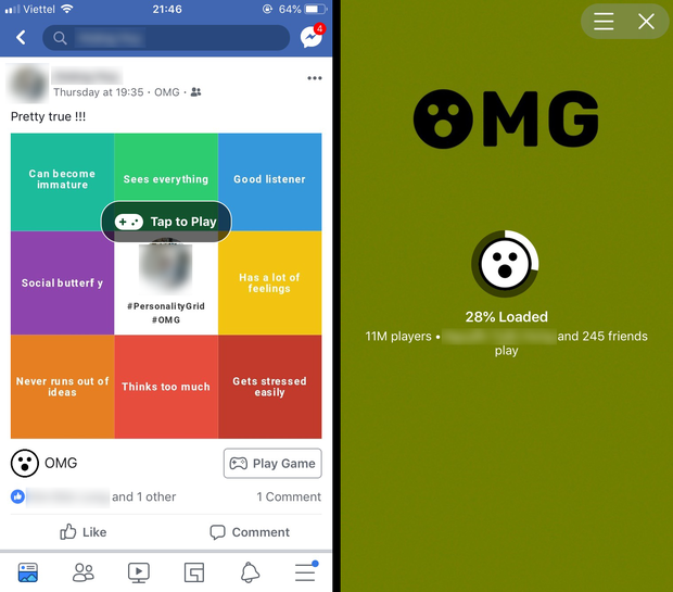 Dân tình Facebook Việt Nam phát sốt vì game đoán tính cách này, chưa chơi đừng hỏi sao mình tối cổ - Ảnh 2.