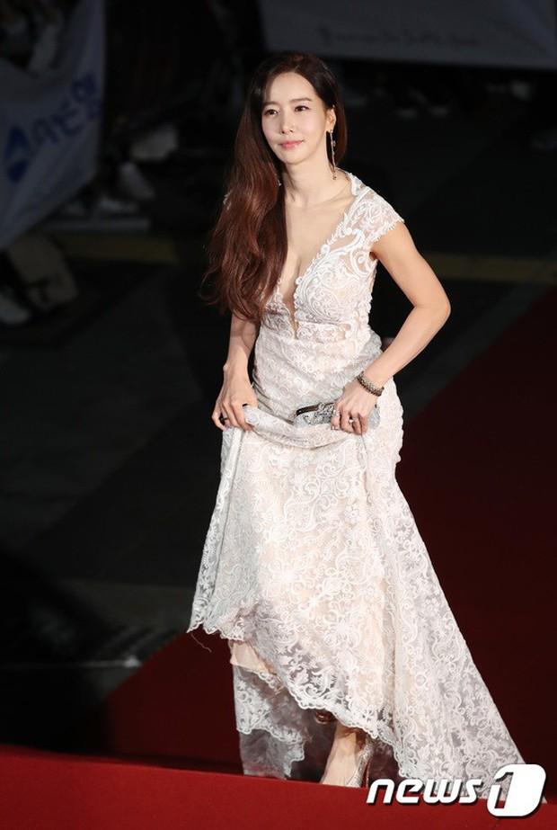 Thảm đỏ Oscar Hàn Quốc 2018: Nàng cháo và loạt mỹ nhân thi nhau o ép vòng 1, Seolhyun sang như bà hoàng - Ảnh 26.
