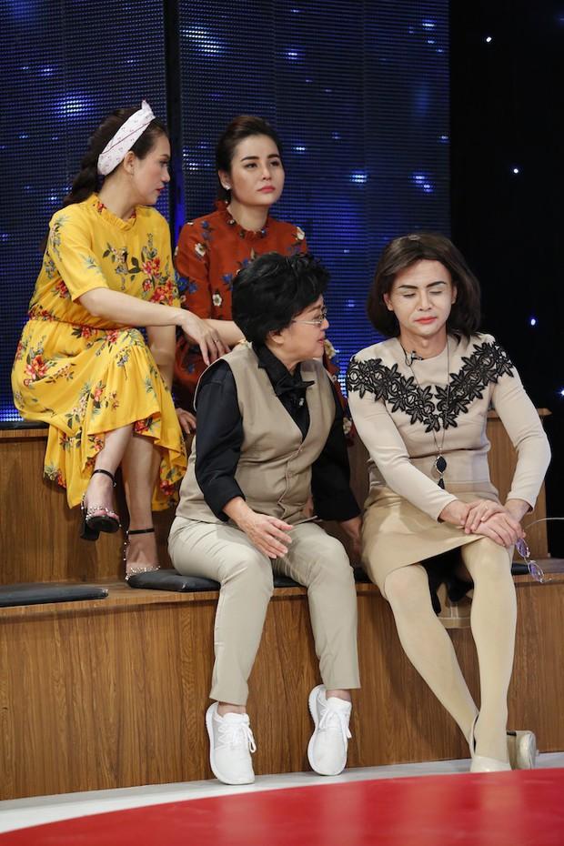 Lâm Khánh Chi cuống cuồng khi phải làm thơ về mẹ chồng - con dâu - Ảnh 2.