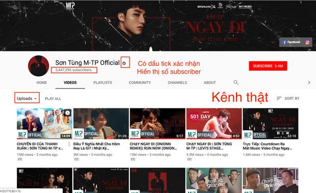 Sự thật về tài khoản được được cho là của Sơn Tùng chúc mừng MV Những kẻ mộng mơ (Noo Phước Thịnh) trên Youtube - Ảnh 2.