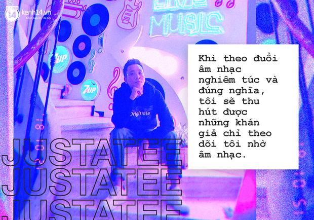 JustaTee: Dù có nổi thế nào, tôi vẫn muốn mọi người gọi mình là một nghệ sĩ Underground - Ảnh 4.