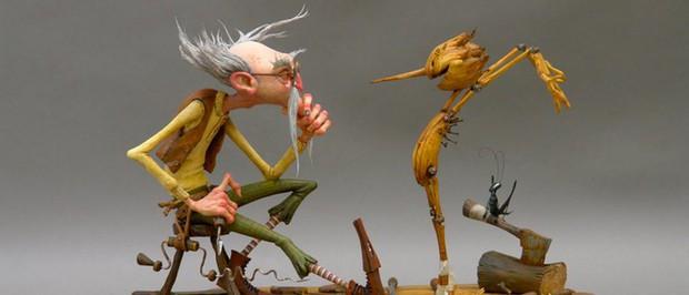 Đạo diễn Người Đẹp và Thủy Quái sẽ tái sinh Cậu bé người gỗ Pinocchio trên Netflix - Ảnh 3.