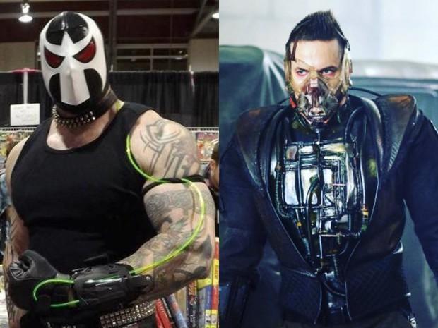 Tạo hình ác nhân Bane bản truyền hình bị chê kém sang, thua xa Tom Hardy của The Dark Knight Rises - Ảnh 6.