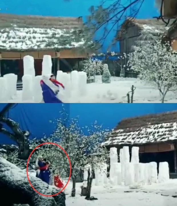 Cao Vỹ Quang ôm ấp tình tứ Địch Lệ Nhiệt Ba ở phim trường Tam Sinh Tam Thế: Chẩm Thượng Thư - Ảnh 3.