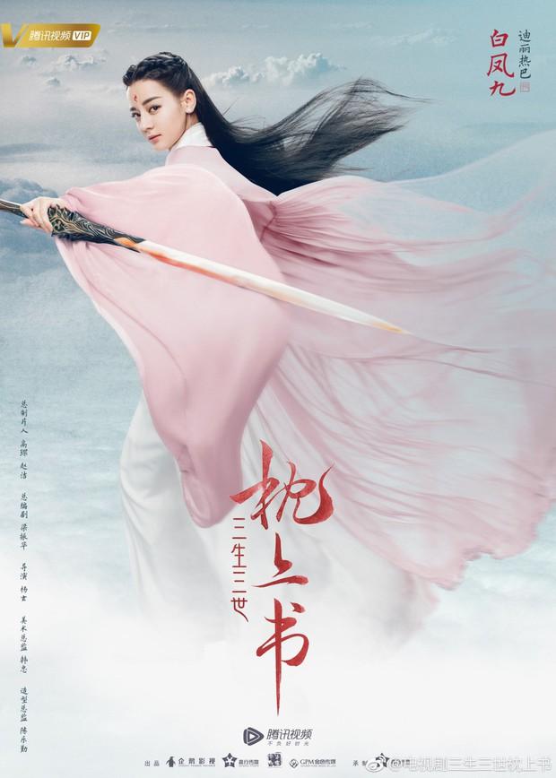 Cao Vỹ Quang ôm ấp tình tứ Địch Lệ Nhiệt Ba ở phim trường Tam Sinh Tam Thế: Chẩm Thượng Thư - Ảnh 4.