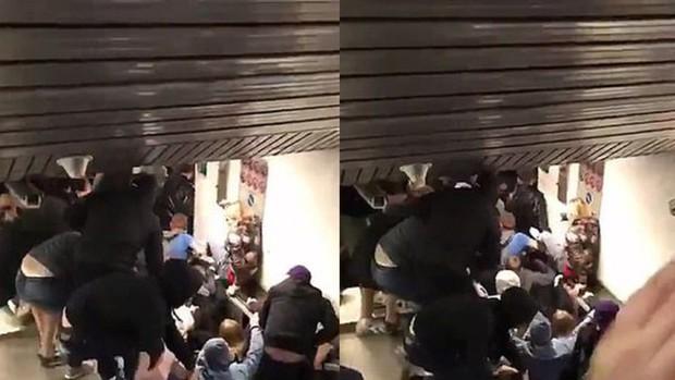 Sập thang máy ở nhà ga chính thủ đô Roma, Italy hơn 20 người bị thương - Ảnh 1.