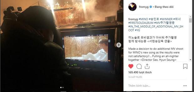 """""""Bố Yang"""" hé lộ hình ảnh đầu tiên trong album solo của Mino, cứu vãn ấn tượng """"xấu xí"""" trong mắt fan WINNER - Ảnh 1."""