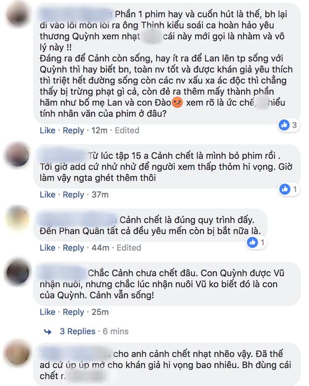 Khán giả kêu gào, phản đối khi Quỳnh Búp Bê tập 20 xác nhận Cảnh soái ca chết thật! - Ảnh 6.