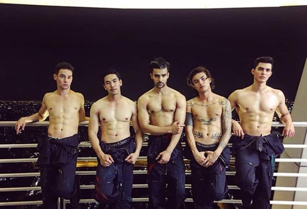 Chấm điểm body cực phẩm của dàn mỹ nam The Face Men Thái: Ai hot nhất? - Ảnh 1.