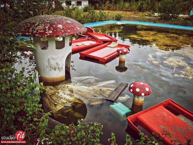 Cảnh hoang tàn đầy ma mị như phim kinh dị của công viên nước bị chìm vào quên lãng suốt 12 năm vì phá sản - Ảnh 25.