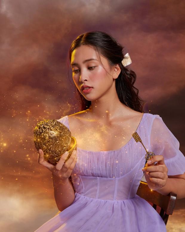 Hoa hậu Tiểu Vy xinh như công chúa trong buổi ra mắt Kẹp Hạt Dẻ và Bốn Vương Quốc - Ảnh 14.