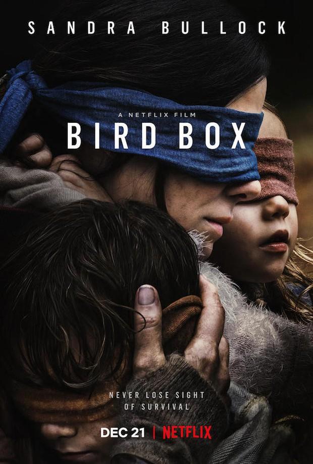 Trailer Bird Box vừa tung bị phát hiện giống tác phẩm kinh dị từng gây sốt A Quiet Place đến khó tin - Ảnh 2.