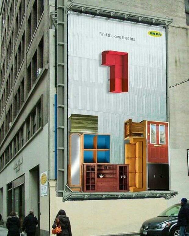 Những biển quảng cáo đường phố xứng đáng được gọi là tác phẩm nghệ thuật sắp đặt - Ảnh 8.
